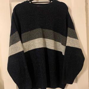 Vintage Harbor Bay Sport USA Acrylic Sweater Sz XL